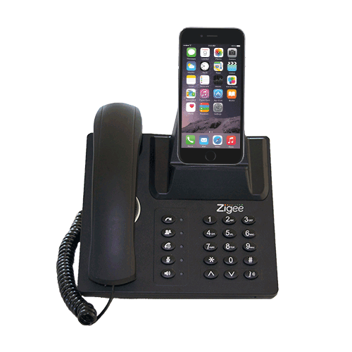 Zigee Dock Solution to Business Phone